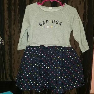 Gap girl toddler dress Size 3